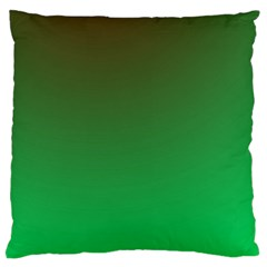 Course Colorful Pattern Abstract Green Standard Flano Cushion Case (one Side) by Nexatart