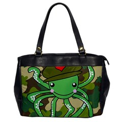 Octopus Army Ocean Marine Sea Office Handbags by Nexatart