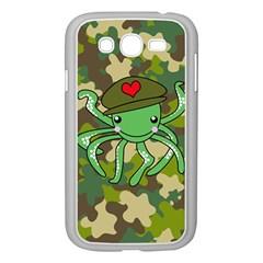Octopus Army Ocean Marine Sea Samsung Galaxy Grand Duos I9082 Case (white) by Nexatart
