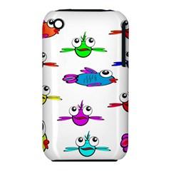 Fish Swim Cartoon Funny Cute Iphone 3s/3gs by Nexatart
