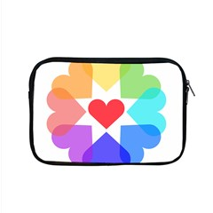 Heart Love Romance Romantic Apple Macbook Pro 15  Zipper Case by Nexatart