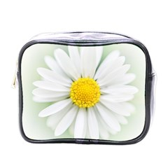 Art Daisy Flower Art Flower Deco Mini Toiletries Bags by Nexatart