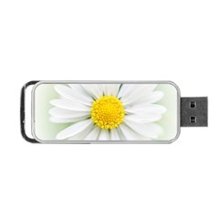 Art Daisy Flower Art Flower Deco Portable Usb Flash (two Sides) by Nexatart