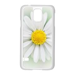 Art Daisy Flower Art Flower Deco Samsung Galaxy S5 Case (white) by Nexatart