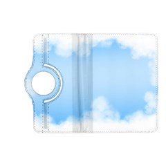 Sky Cloud Blue Texture Kindle Fire Hd (2013) Flip 360 Case by Nexatart
