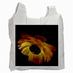 Ranunculus Yellow Orange Blossom Recycle Bag (one Side) by Nexatart