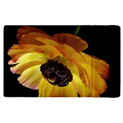 Ranunculus Yellow Orange Blossom Apple Ipad Pro 12 9   Flip Case by Nexatart