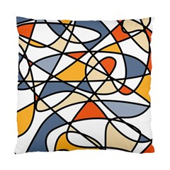 Abstract Background Abstract Standard Cushion Case (one Side) by Nexatart