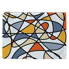 Abstract Background Abstract Cosmetic Bag (xxl)  by Nexatart