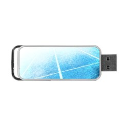Court Sport Blue Red White Portable Usb Flash (two Sides) by Nexatart
