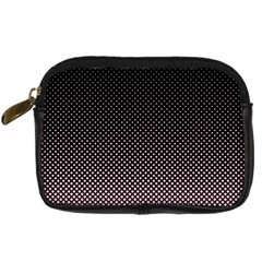 Halftone Background Pattern Black Digital Camera Cases by Nexatart