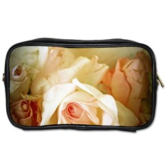 Roses Vintage Playful Romantic Toiletries Bags 2 Side by Nexatart