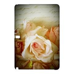 Roses Vintage Playful Romantic Samsung Galaxy Tab Pro 10 1 Hardshell Case by Nexatart