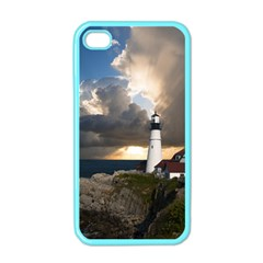 Lighthouse Beacon Light House Apple Iphone 4 Case (color) by Nexatart