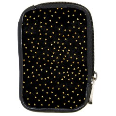 Grunge Pattern Black Triangles Compact Camera Cases