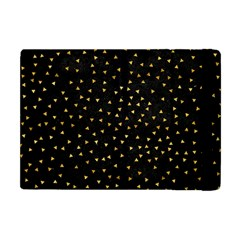 Grunge Pattern Black Triangles Apple Ipad Mini Flip Case by Nexatart