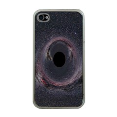 Black Hole Blue Space Galaxy Star Apple Iphone 4 Case (clear) by Mariart