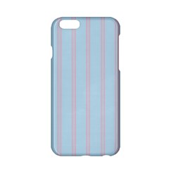 Bleu Pink Line Vertical Apple Iphone 6/6s Hardshell Case by Mariart