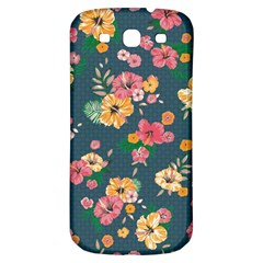 Aloha Hawaii Flower Floral Sexy Samsung Galaxy S3 S Iii Classic Hardshell Back Case by Mariart