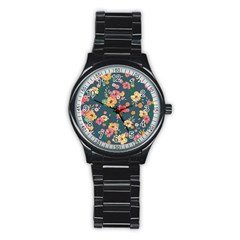 Aloha Hawaii Flower Floral Sexy Stainless Steel Round Watch by Mariart