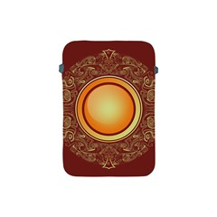 Badge Gilding Sun Red Oriental Apple Ipad Mini Protective Soft Cases by Nexatart