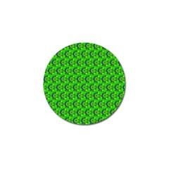 Abstract Art Circles Swirls Stars Golf Ball Marker (4 Pack) by Nexatart