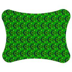 Abstract Art Circles Swirls Stars Jigsaw Puzzle Photo Stand (bow) by Nexatart