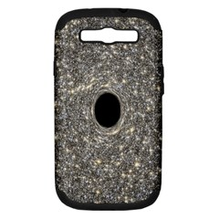 Black Hole Blue Space Galaxy Star Light Samsung Galaxy S Iii Hardshell Case (pc+silicone) by Mariart