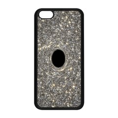 Black Hole Blue Space Galaxy Star Light Apple Iphone 5c Seamless Case (black) by Mariart