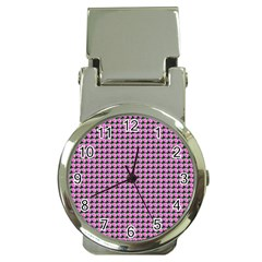 Pattern Grid Background Money Clip Watches by Nexatart