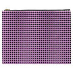 Pattern Grid Background Cosmetic Bag (xxxl)  by Nexatart