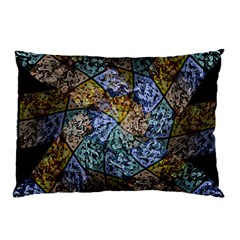Multi Color Tile Twirl Octagon Pillow Case (two Sides) by Nexatart