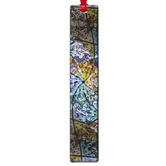 Multi Color Tile Twirl Octagon Large Book Marks by Nexatart