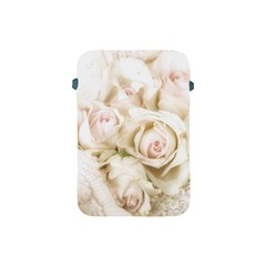 Pastel Roses Antique Vintage Apple Ipad Mini Protective Soft Cases by Nexatart