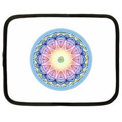 Mandala Universe Energy Om Netbook Case (xl)  by Nexatart