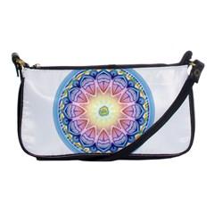 Mandala Universe Energy Om Shoulder Clutch Bags by Nexatart