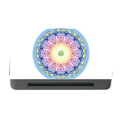 Mandala Universe Energy Om Memory Card Reader With Cf by Nexatart
