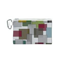 Decor Painting Design Texture Canvas Cosmetic Bag (s) by Nexatart