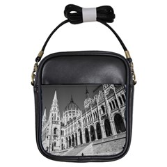 Architecture Parliament Landmark Girls Sling Bags by Nexatart