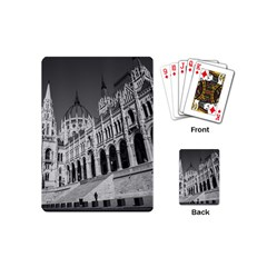Architecture Parliament Landmark Playing Cards (mini)  by Nexatart