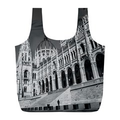 Architecture Parliament Landmark Full Print Recycle Bags (l)