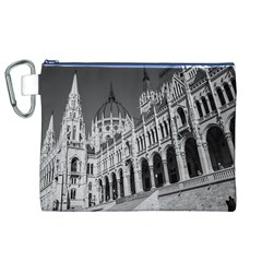 Architecture Parliament Landmark Canvas Cosmetic Bag (xl) by Nexatart