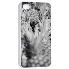 Pineapple Market Fruit Food Fresh Apple Iphone 4/4s Seamless Case (white) by Nexatart