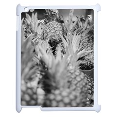 Pineapple Market Fruit Food Fresh Apple Ipad 2 Case (white) by Nexatart