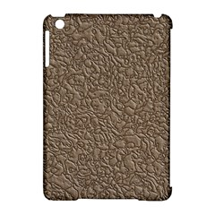 Leather Texture Brown Background Apple Ipad Mini Hardshell Case (compatible With Smart Cover) by Nexatart