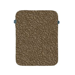 Leather Texture Brown Background Apple Ipad 2/3/4 Protective Soft Cases by Nexatart