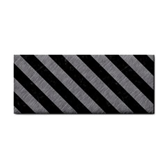 Stripes3 Black Marble & Gray Colored Pencil (r) Cosmetic Storage Cases by trendistuff