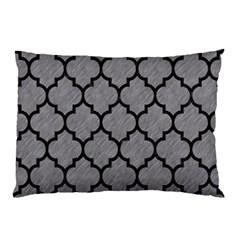 Tile1 Black Marble & Gray Colored Pencil (r) Pillow Case by trendistuff
