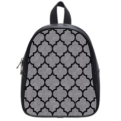 Tile1 Black Marble & Gray Colored Pencil (r) School Bag (small) by trendistuff
