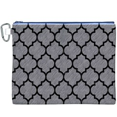 Tile1 Black Marble & Gray Colored Pencil (r) Canvas Cosmetic Bag (xxxl) by trendistuff